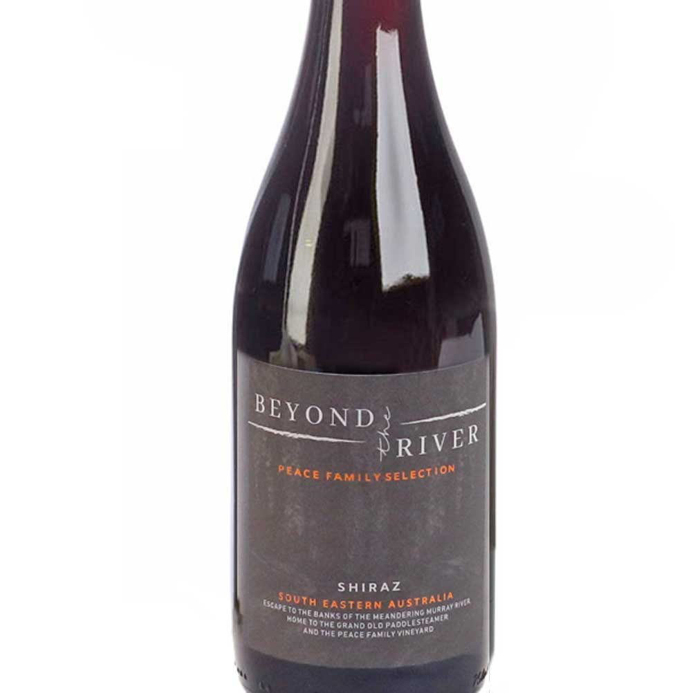 Shiraz Beyond The River label
